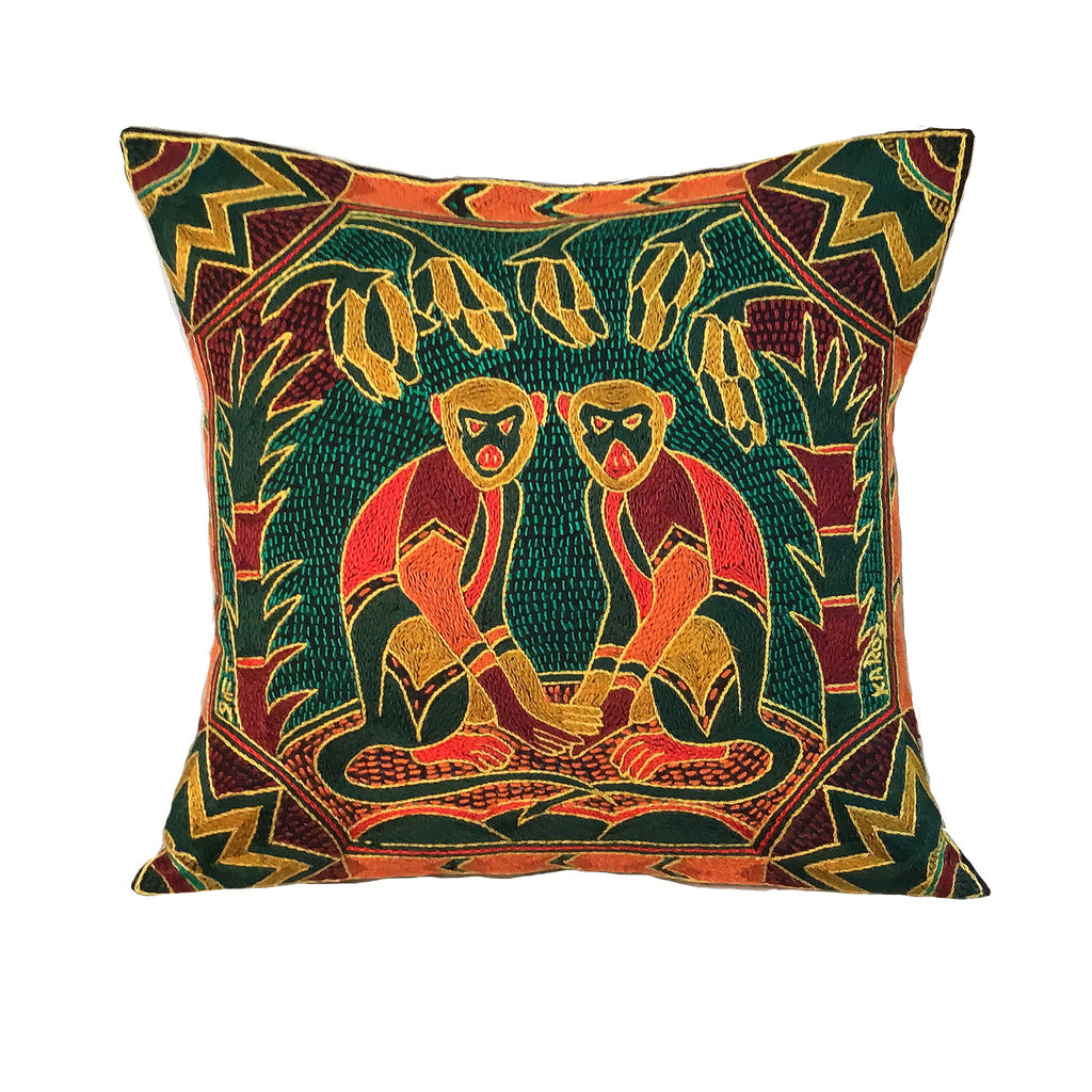 Viva Africa Monkey Cushion Cover