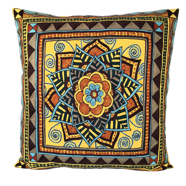Mopani Moments Flower Cushion Cover