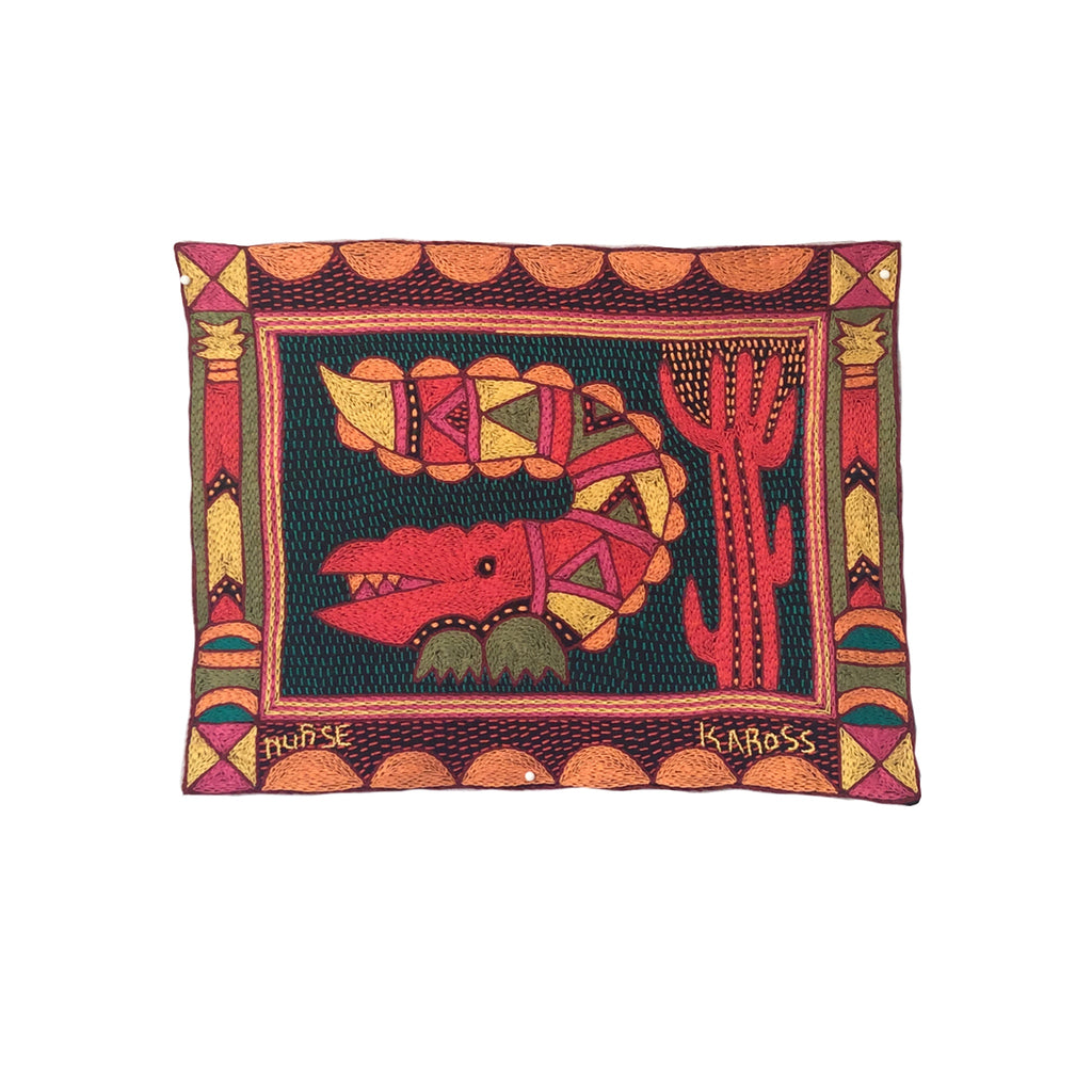 Shangaan Love Crocodile Love Unpadded Placemat