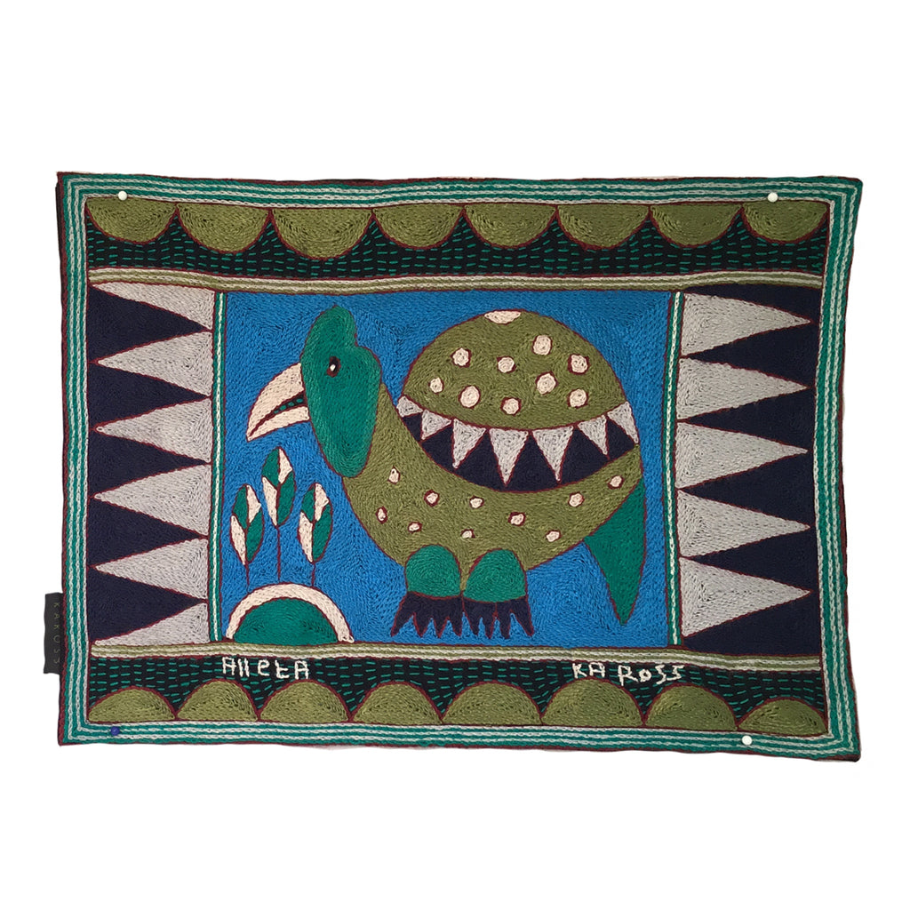 Turaco Guinea Fowl Padded Placemat