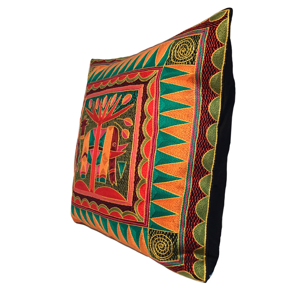Shangaan Love Large Elephant Cushion Cover
