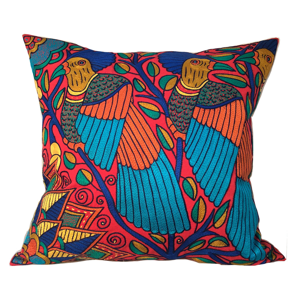 Marula's in Autumn Love Birds Cushion Cover