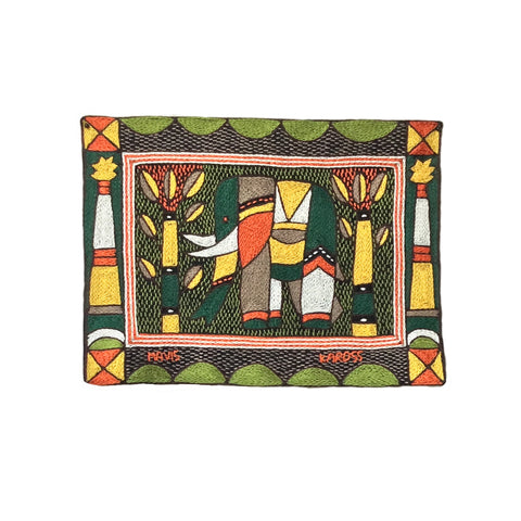 Bushveld Warmth Elephant Cow Unpadded Placemat