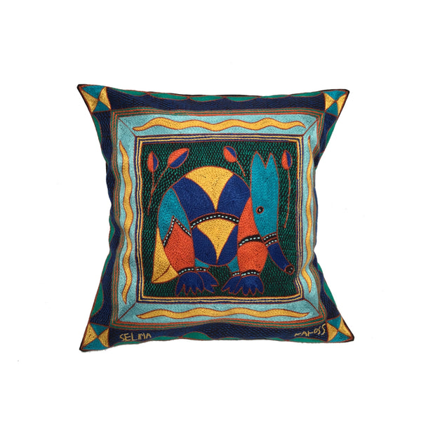 Mozambiquan Jive Anteater Cushion Cover