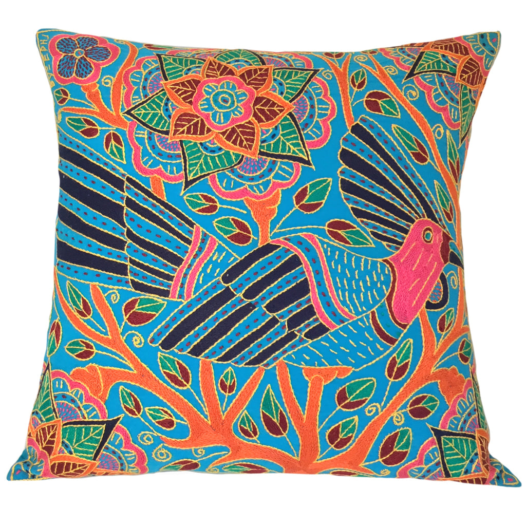 Shangaan Love A Bird in a Tree Cushion Cover