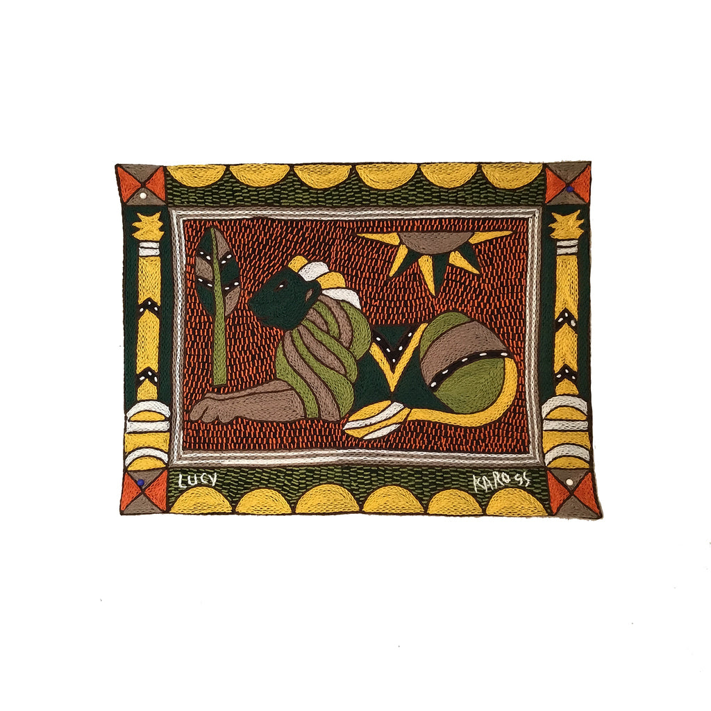 Bushveld Warmth Lion Unpadded Placemat
