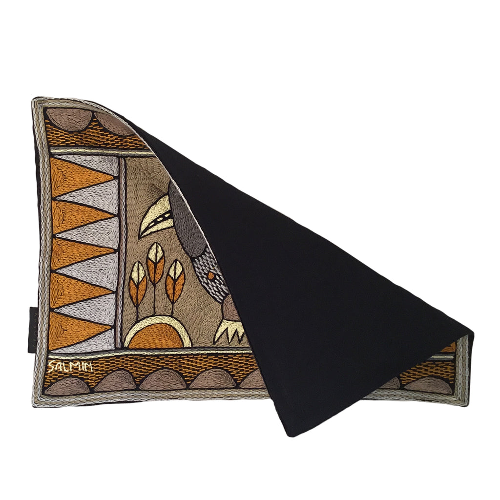 Ode to the African Savannah Guinea Fowl Padded Placemat