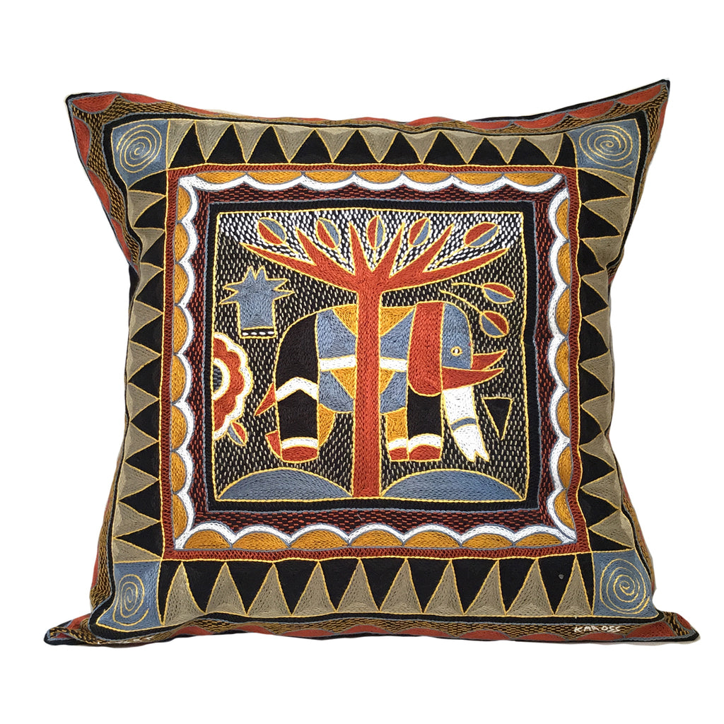 Namib Rust Large Elephant Cushion Cover