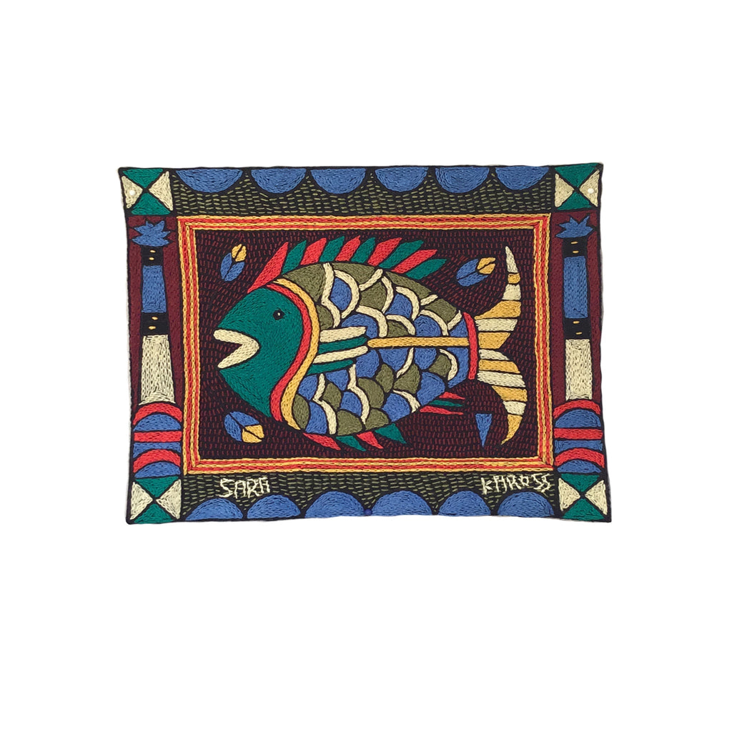 Viva Africa Fish Unpadded Placemat