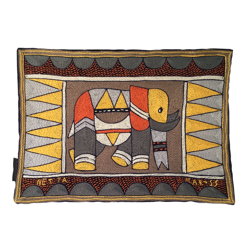 Winterveld Elephant Bull Padded Placemat