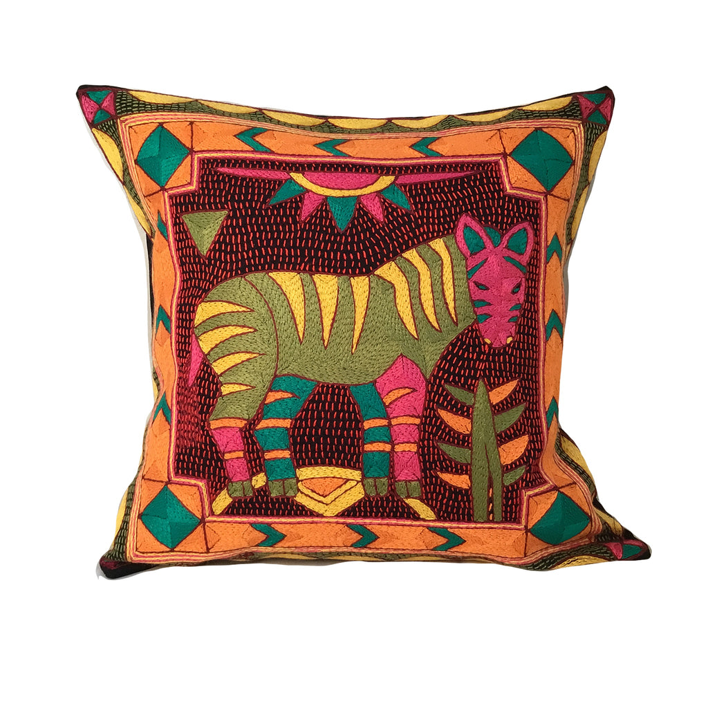 Shangaan Love Zebra Cushion Cover