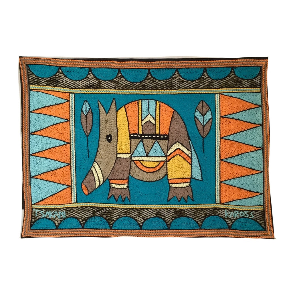 Coastal Calm Anteater Padded Placemat