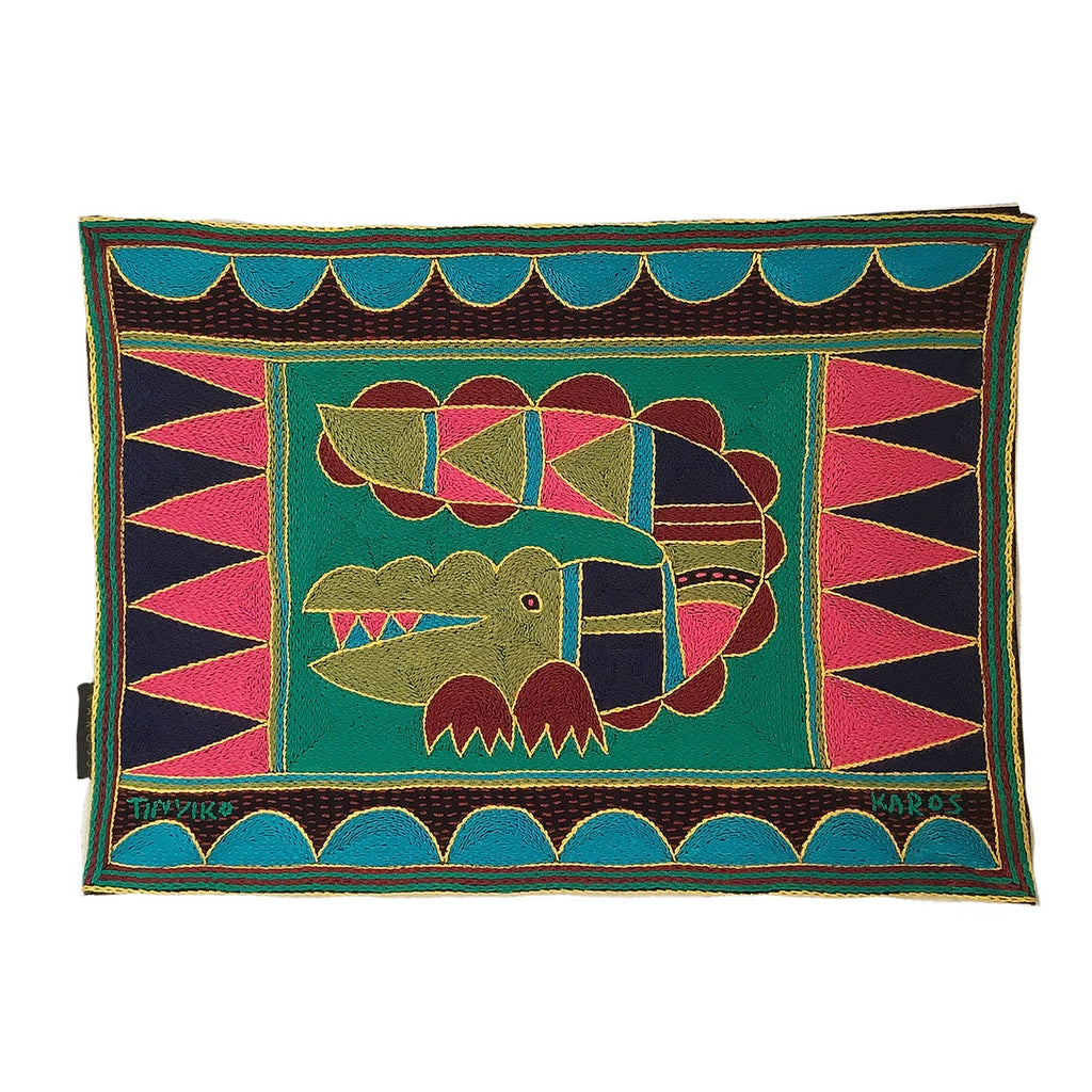 Shangaan Love Crocodile Padded Placemat
