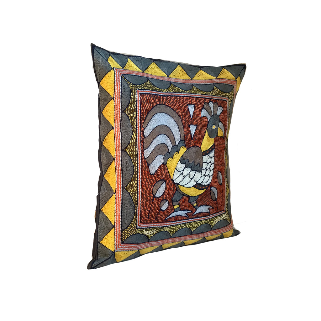 Winterveld Rooster Cushion Cover