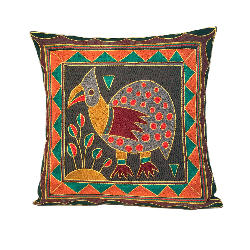 Viva Africa Guinea Fowl Cushion Cover