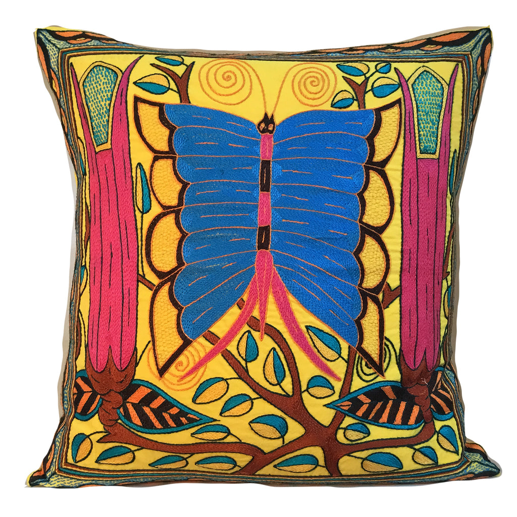 Shangaan Love Butterfly Cushion Cover