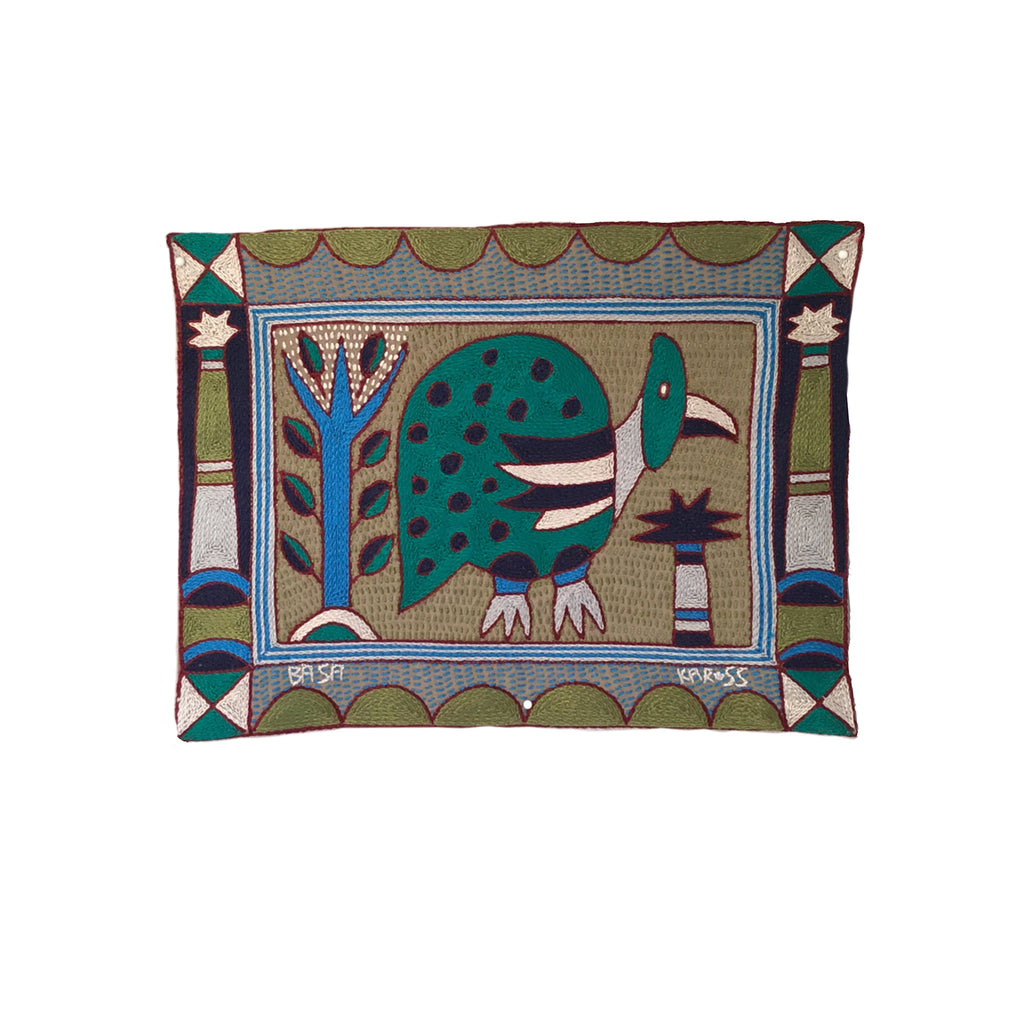 Turaco Guinea Fowl Unpadded Placemat