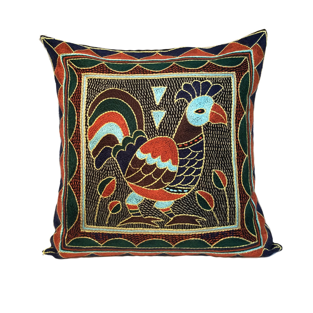 Mopani Moments Rooster Cushion Cover