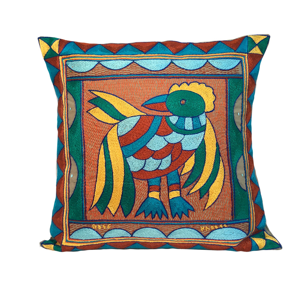 Valencia Pheasant Cushion Cover