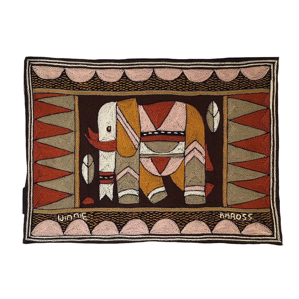 Namib Rust Elephant Cow Padded Placemat