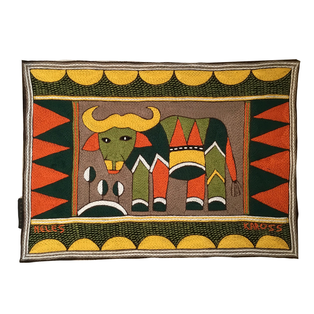 Bushveld Warmth Buffalo Padded Placemat