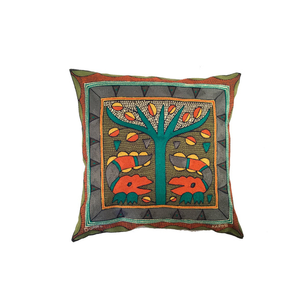 Bushveld Lush Crocodile 1 Cushion Cover
