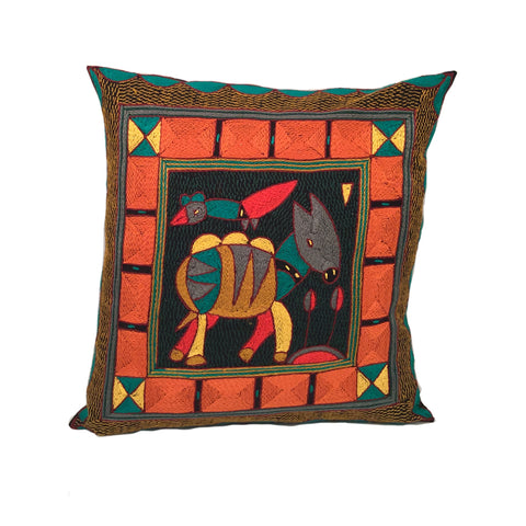 Viva Africa Antelope Cushion Cover