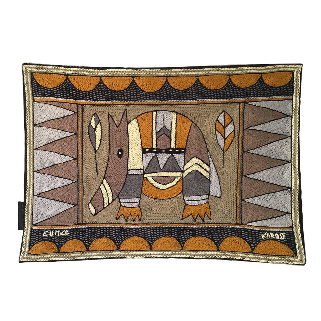 Ode to the African Savannah Anteater Padded Placemat