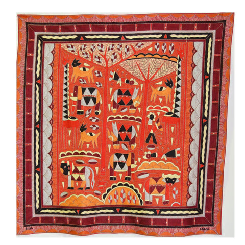 Royal Zulu Red day Embroidered Cloth