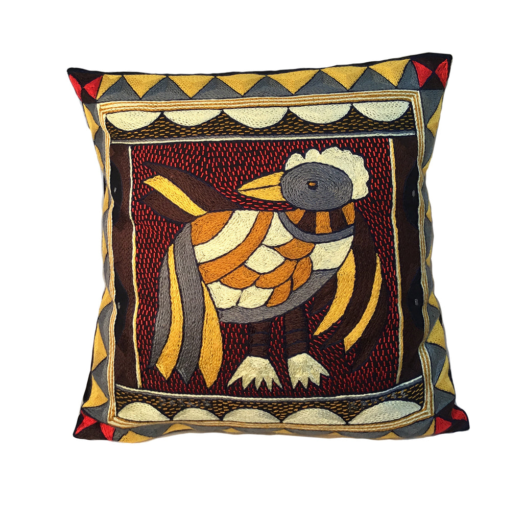 Royal Zulu Pheasant Cushion Cover