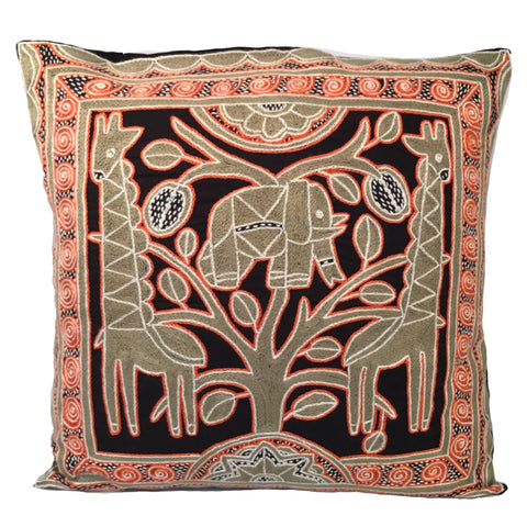 Namib Rust Elephant at Heart Monochrome Cushion Cover