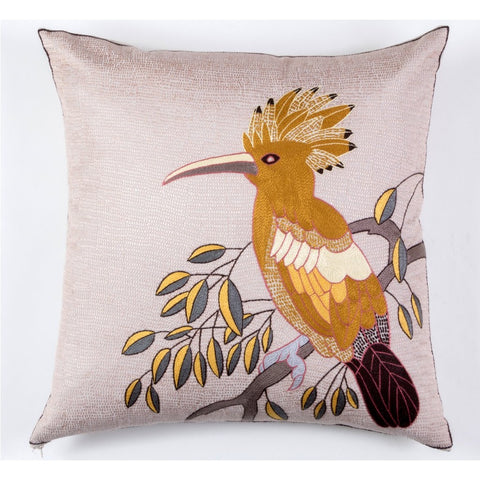 Hoopoe Gazing Cushion Cover