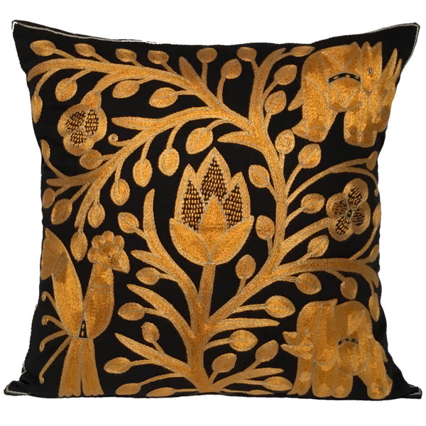 Ode to the African Savannah Flower Cushion Cover