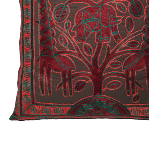 Viva Africa Elephant at Heart Monochrome Cushion Cover