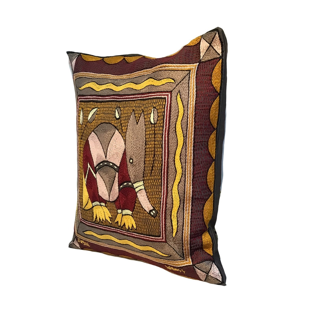 African Dawn Anteater Cushion Cover