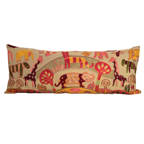 My Little Africa Cushion in Candy Pink