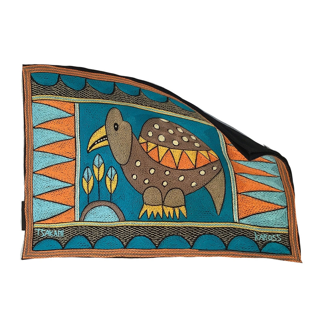 Coastal Calm Guinea Fowl Padded Placemat