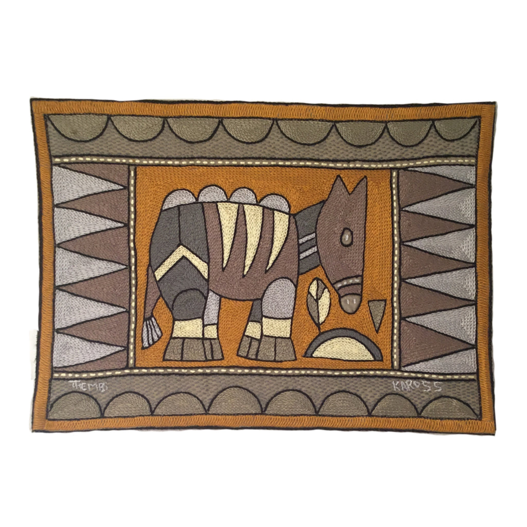 Ode to the African Savannah Antelope Padded Placemat