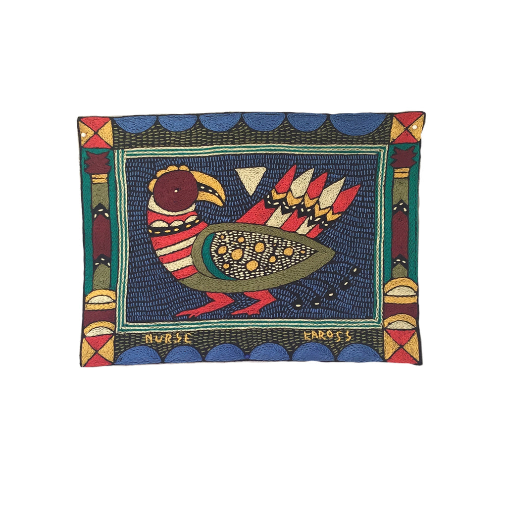 Viva Africa Curious Bird Unpadded Placemat