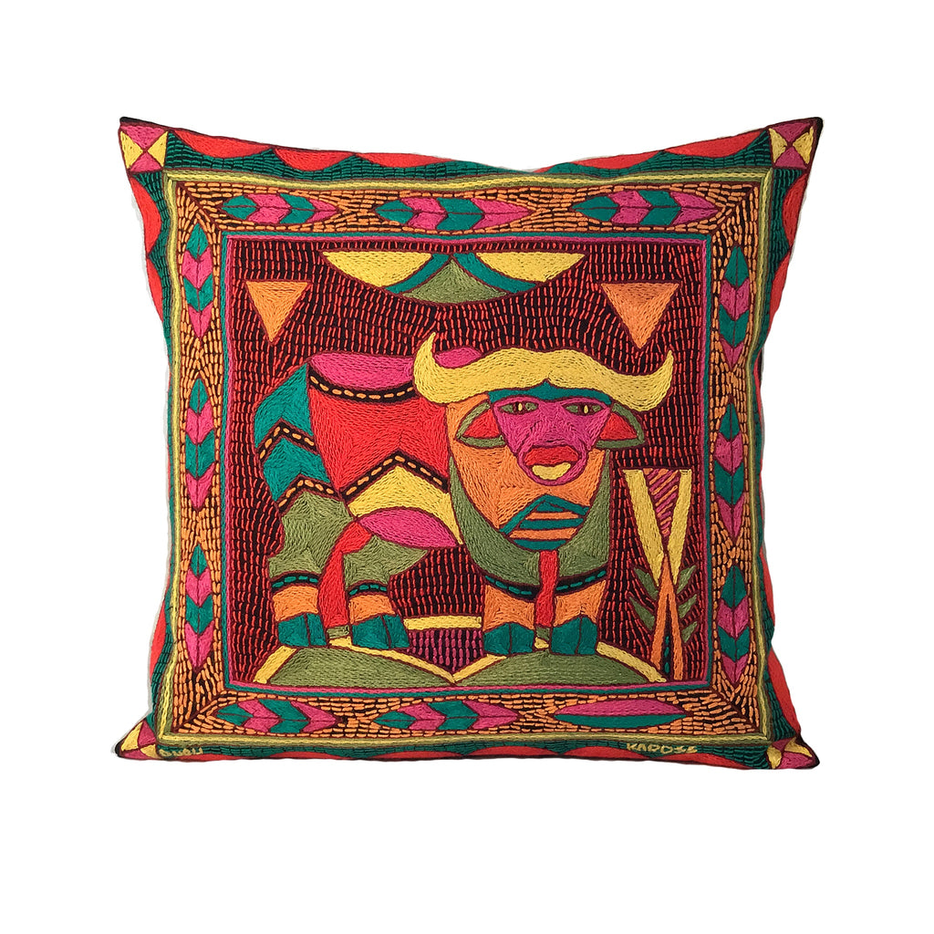 Shangaan Love Buffalo Cushion Cover