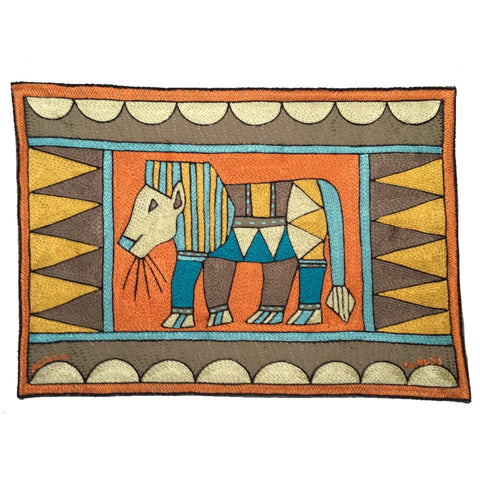 Coastal Calm Lion Padded Placemat