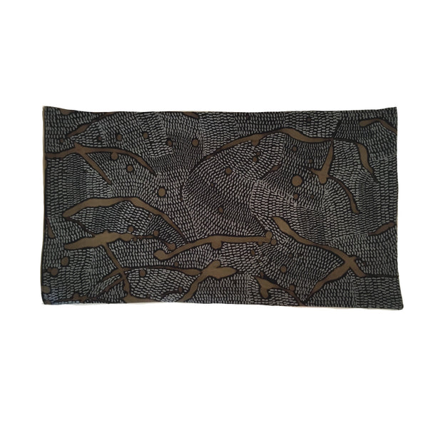 African Veld in Grey markings 35x60cm cushion cover