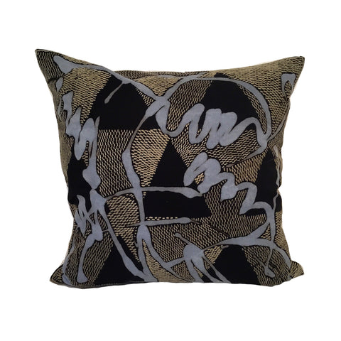 African Veld in Khaki markings *45cm cushion cover