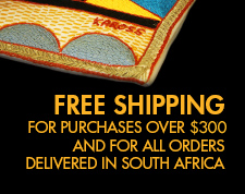 We will deliver your African Home Decor items for free if you order for more than $300