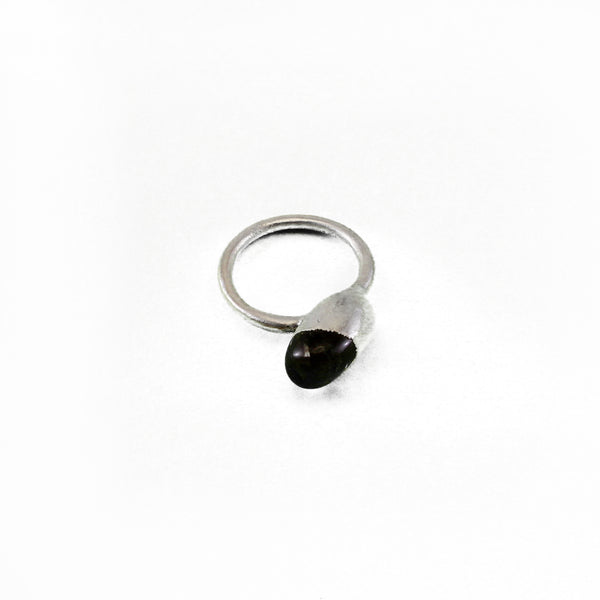 Clear Quartz Ring, Medium