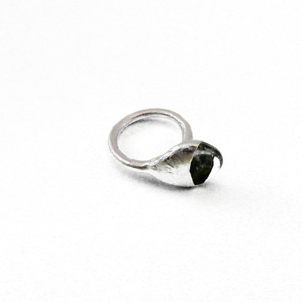 Clear Quartz Ring, Small