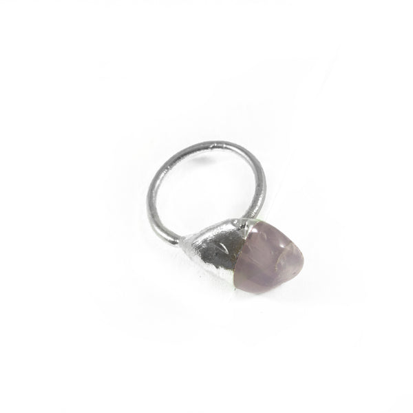 Rose Quartz Ring, Large