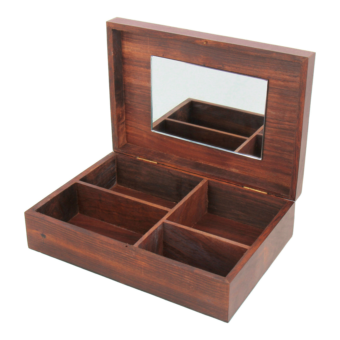 Wooden treasure box.