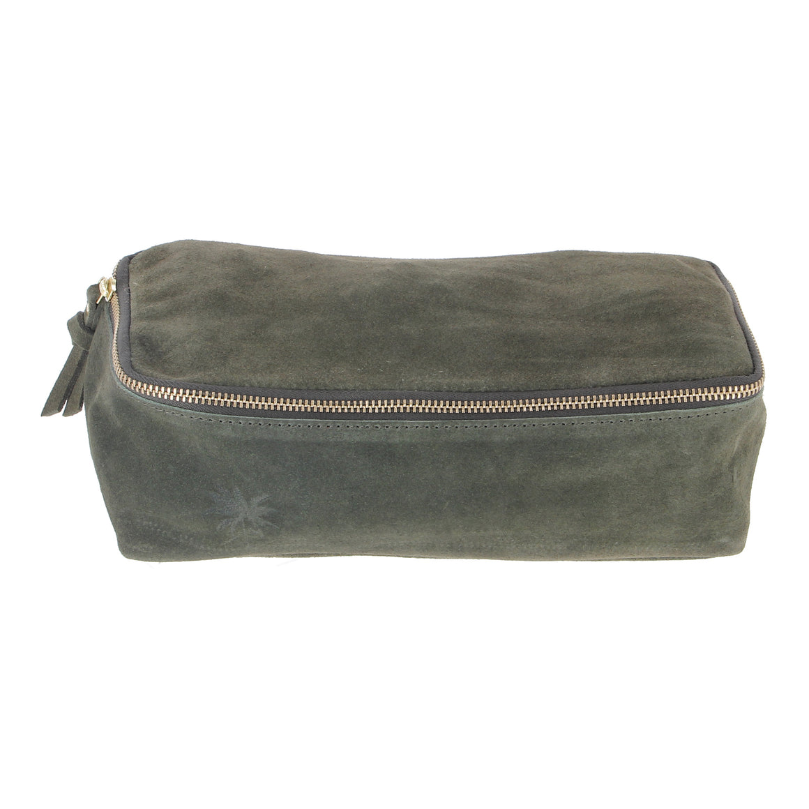 suede travel pouch