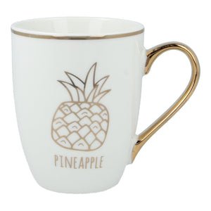 Mug-nificent Gold Pineapple Set